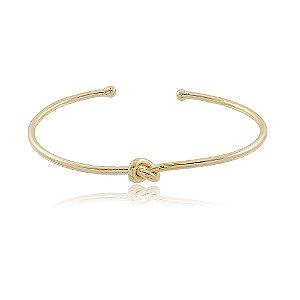 Bracelete Nó Dourado