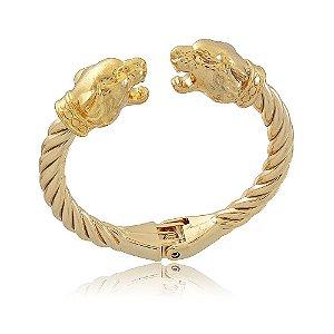 Bracelete Leão Dourado