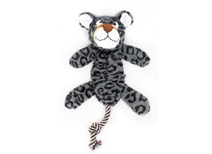 Brinq.pelucia Leopardo Dental