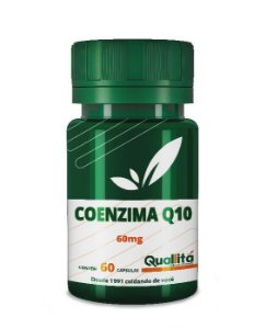 Coenzima Q10 60mg (60 Cápsulas) BLACK FRIDAY