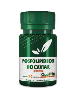 FOSFOLIPIDEOS DO CAVIAR 500mg 30 Cápsulas