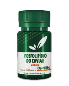 FOSFOLIPIDIO DO CAVIAR 500mg 60 Cápsulas