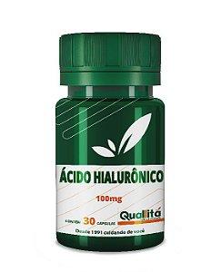 Ácido Hialurônico 100mg (30 Cápsulas)