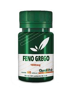 Feno Grego (FENULIFE) 1000mg - A cápsula sacietogênica com ação antioxidante (60 Cápsulas)