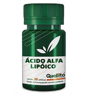 Ácido Alfa Lipóico 300mg - Efeito Antioxidante (30 Cápsulas)