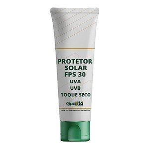 Protetor Solar com FPS 30 UVA e UVB Toque Seco (50g)