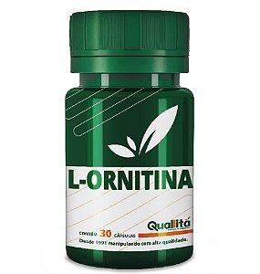 L Ornitina 300mg (30 Cápsulas)
