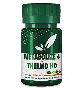 Metabolize 4 500mg + Thermo HD 500mg (30 Cápsulas)