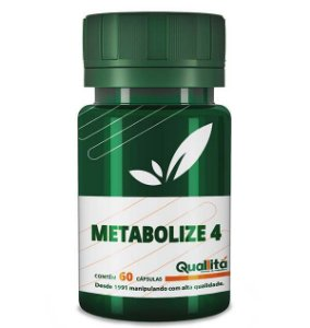 Metabolize 4 500mg (60 Cápsulas)