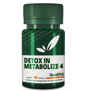 Detox In 500mg, Metabolize 4 250mg (30 Cápsulas)