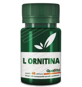 L Ornitina 300mg (60 Cápsulas)
