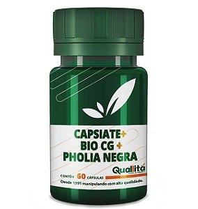 Capsiate 3mg + Bio CG150mg + Pholia Negra 100mg (60 Cápsulas)