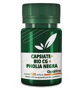 Capsiate 3mg + Bio CG150mg + Pholia Negra 100mg (120 Cápsulas)