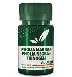 Pholia Magra 250mg + Pholia Negra 100mg + Thinogem 150mg (120 Cápsulas)