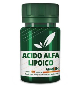 Acido Alfa Lipoico 300mg (90 Cápsulas)