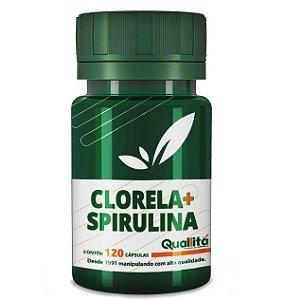 Clorela 500Mg; Spirulina 500Mg;
