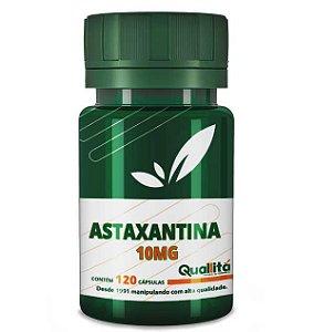 Astaxantina 10mg (120 Cápsulas)