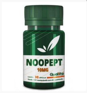 Noopept 10mg - Funções neurais saudáveis (30 cápsulas)