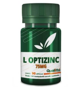 L Optizinc 75mg (90 Cápsulas)