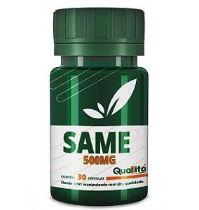 SAMe 500mg – bom humor, articulações e fígado saudáveis (30 cápsulas)