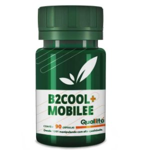 B2Cool 40mg + Mobilee 40 mg (90 cápsulas) BLACK FRIDAY