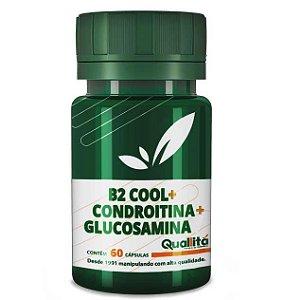 B2 Cool + Condroitina + Glucosamina - Articulações saudáveis (60 cápsulas)