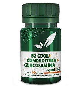 B2 Cool + Condroitina + Glucosamina - Articulações saudáveis (90 cápsulas)