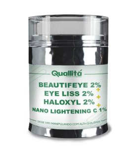Beautifeye 2% + Eye Liss 2% + Haloxyl 2% + Nano Lightening C 1% (15g) - Tratamento para Olheiras