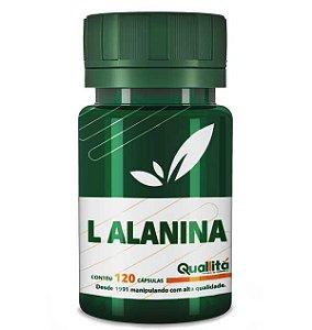 L Alanina 550mg (120 cápsulas)