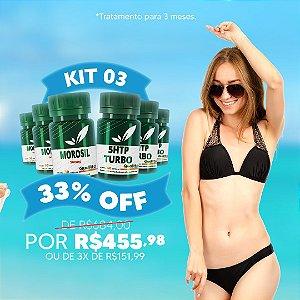 Kit Morosil 3 unidades + 5HTP Turbo 3 unidades - 33% OFF
