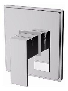 Misturador Monocomando Quadrado P/ Ducha Chuveiro 3/4 Dn20