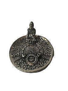 Incensário Buda Cromado 5cm