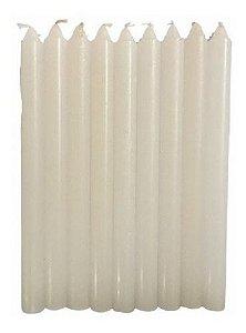 1 Kg Velas Branca Palito 12cm 19g (52 velas)