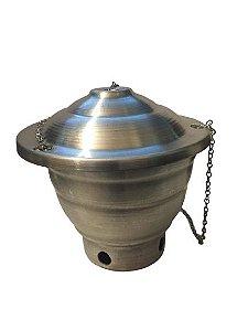 Turibulo Pequeno em Aluminio