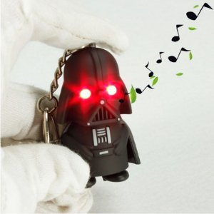 Chaveiro Luminoso Star Wars Darth Vader