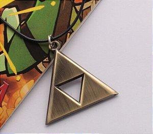 Colar Zelda Triforce