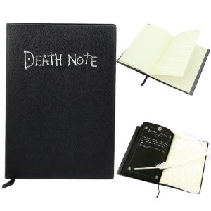 Caderno Death Note Com Pena Inclusa