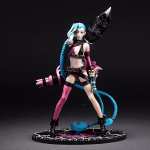 Figura de Ação Jinx League of Legends 24cm OEM