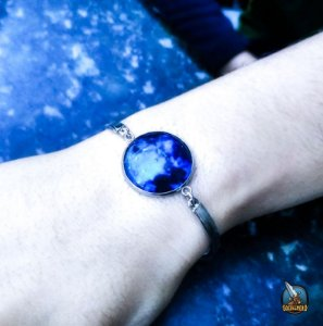 Pulseira Lua Azul