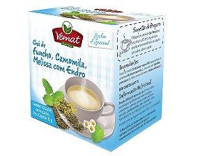 Chá funcho camomila melissa e endro - 10sachês