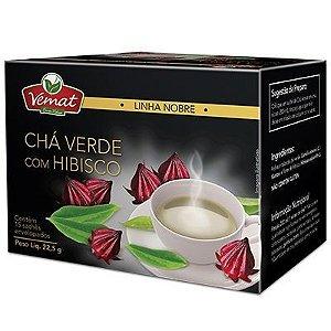 Chá Verde com Hibisco - 15 sachês