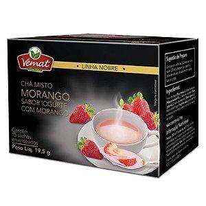 Chá de Morango sabor Iogurte - 15 Sachês
