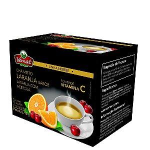 Chá de laranja com acerola