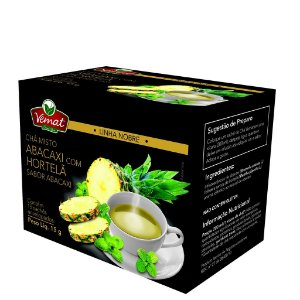 Chá de abacaxi com hortelã 15 sachês