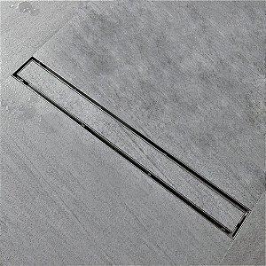 Ralo Linear Inox Invisivel Oculto Retangular 80 Cm Nao É Pvc