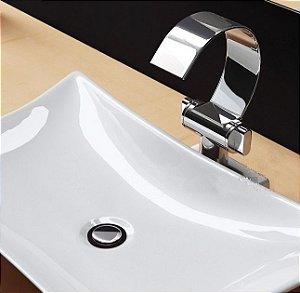 Torneira Banheiro Lavabo Duplo comando Veneza baixa