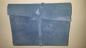 Diário de Viagem azul claro (papel kraft)