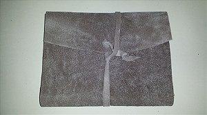 Diário de Viagem cinza musgo (papel pólen)