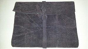 Diário de Viagem cinza escuro (papel kraft)