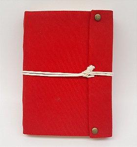 Diário em Lona Vermelho